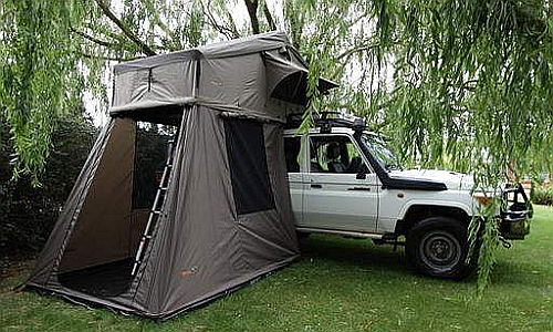 Britz Safari Landcruiser Roof Tent 5 Berth 4wd Totally