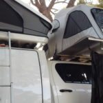 Redsands Hilux 4wd camper with Totally Campers