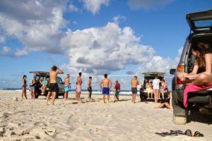 Fraser Island Beachvolleybal