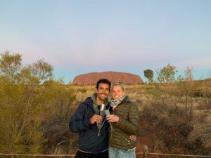 Met camper naar Uluru Australië