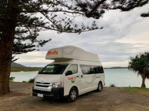 Britz camper huren Australië
