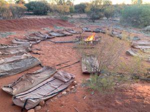 Kamperen bij Uluru